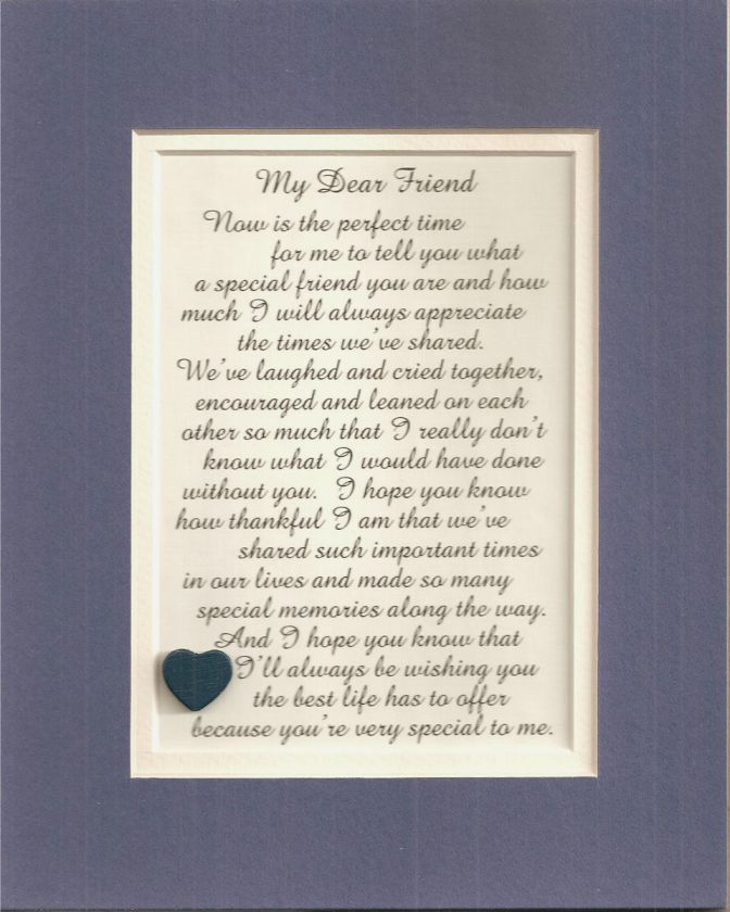 Best FRIENDs friendship verses poems plaques sayings
